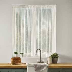 April Slot Top Lace Voile Fabric