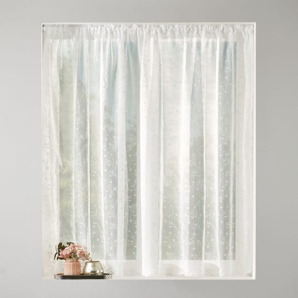Anais Slot Top Voile Fabric  undefined