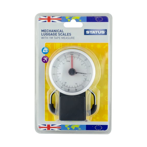 Mechanical Travel Scales Grey