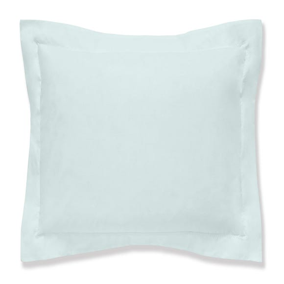 Fogarty Soft Touch Duck Egg Blue Continental Square Pillowcase Duck Egg (Blue)