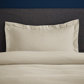 Fogarty Soft Touch Natural Oxford Pillowcase