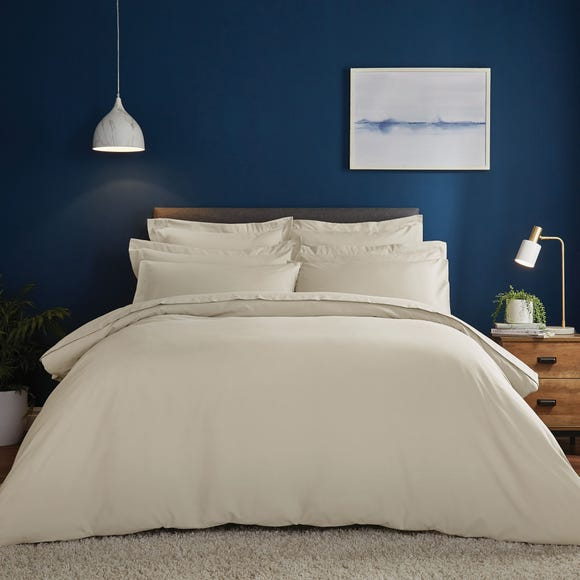 Fogarty Soft Touch Natural Duvet Cover and Pillowcase Set Natural undefined