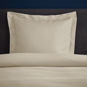 Fogarty Soft Touch Natural Continental Square Pillowcase