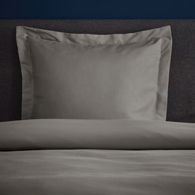 Fogarty Soft Touch Slate Grey Continental Square Pillowcase