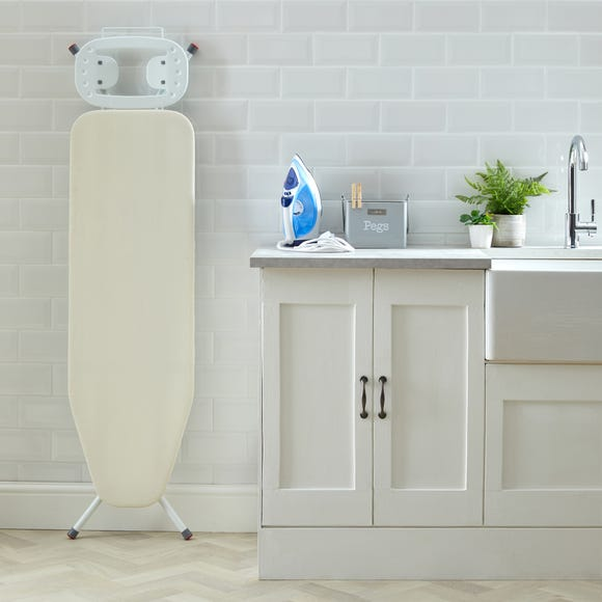 Natural Ironing Board White