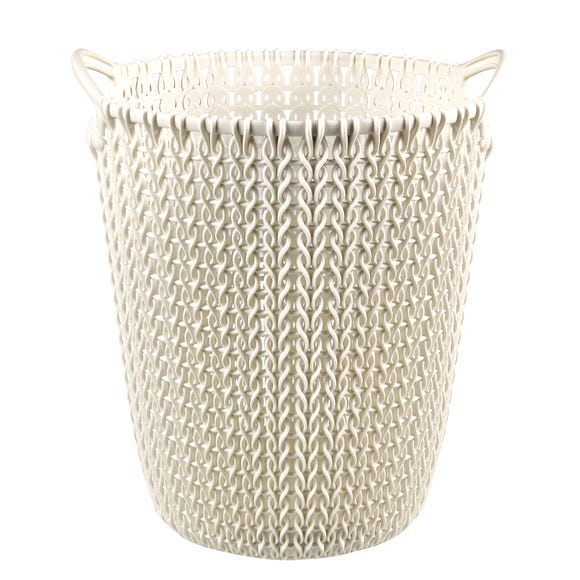 Curver White Waste Paper Basket White