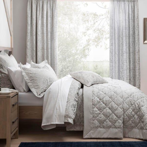 Dorma Winchester Grey Bedspread  undefined
