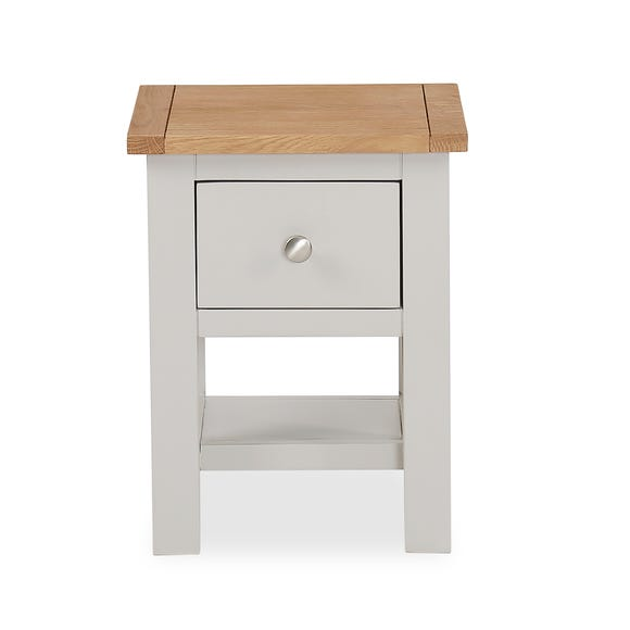 Bromley Grey Lamp Table