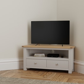 Bromley Grey Corner TV Stand