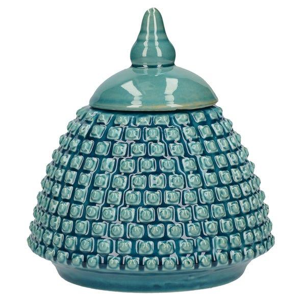 Deco Charm Teal Ginger Jar Teal undefined