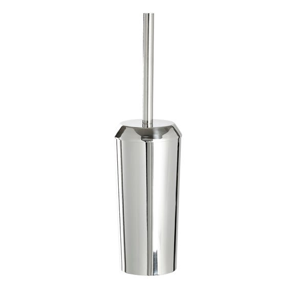 5A Fifth Avenue Chrome Plated Toilet Brush Holder Silver