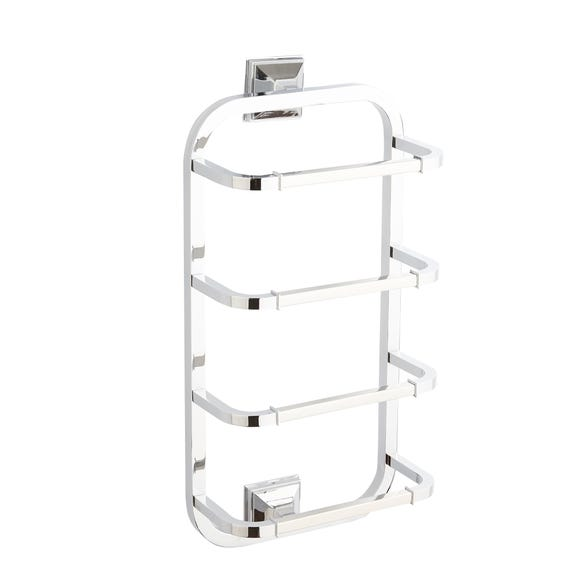 5A Fifth Avenue Wall Mounted Towel Holder Silver