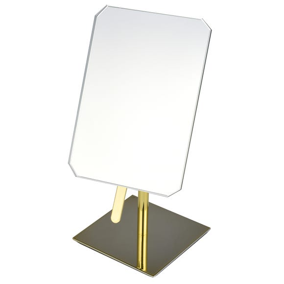 Gold Free Standing Mirror Gold