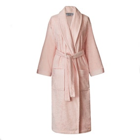 Dorma Rose Cotton and Silk Dressing Gown