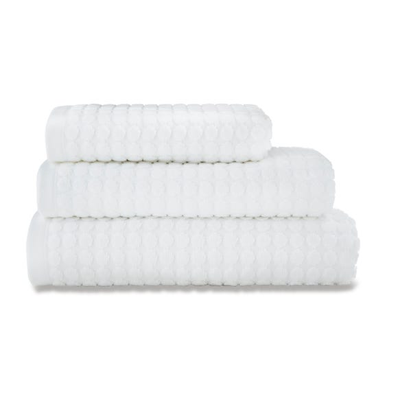 Elements White Dots Towel White undefined