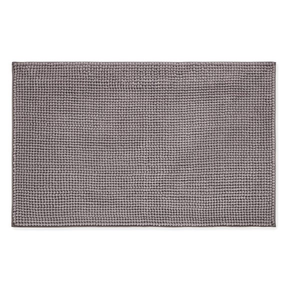 Elements Mini Bobble Grey Bath Mat