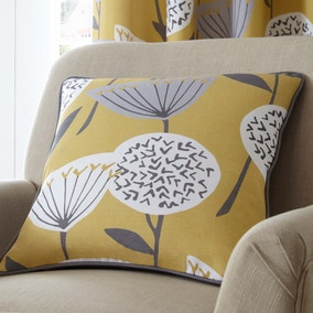 Elements Emmott Ochre Cushion
