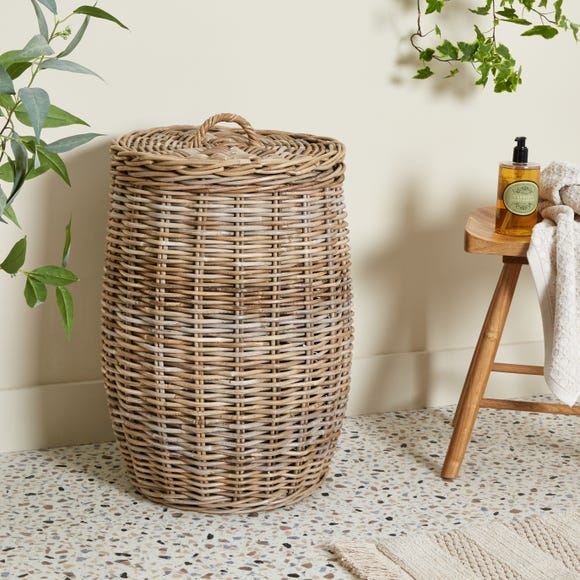 Dorma Kubu Laundry Basket Grey