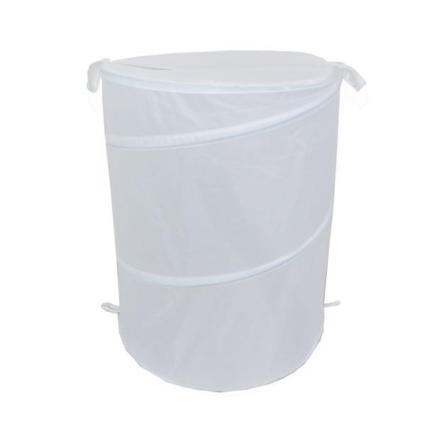 Essentials Pop Up Laundry Basket White