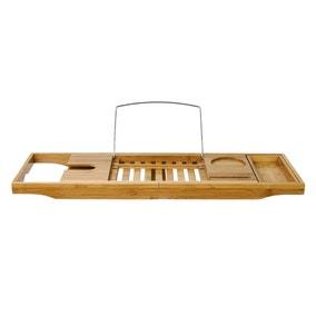 Elements Bamboo Extendable Bath Rack