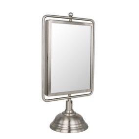 Keepers Lodge Satin Nickel Mirror