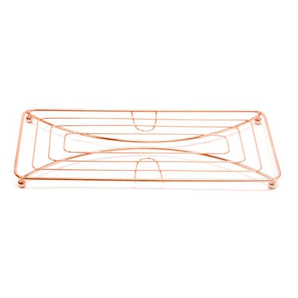 Copper Double Pan Trivet Copper