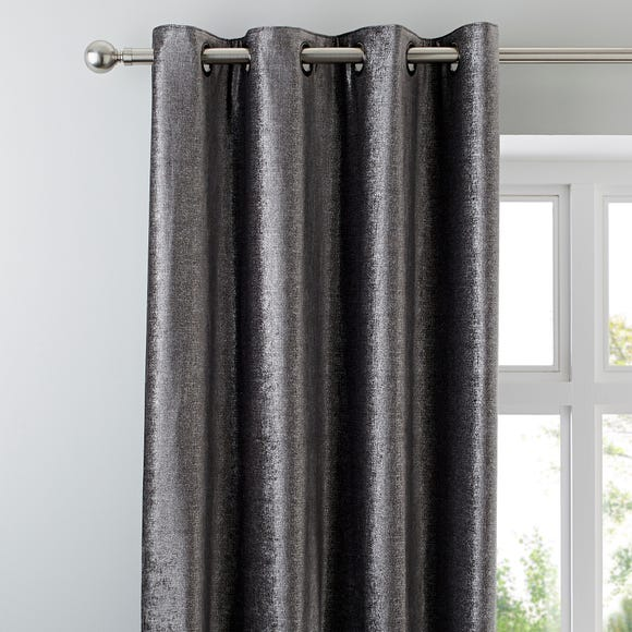 5A Fifth Avenue Broadway Charcoal Eyelet Curtains  undefined