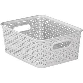 Curver 4L Grey Basket