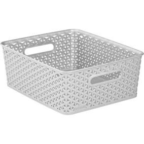 Curver 13L Grey Basket