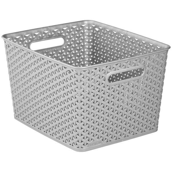 Curver 18L Grey Basket