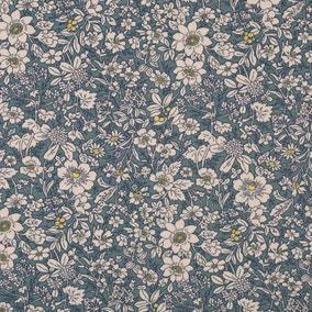 Dresden Floral Cotton Poplin