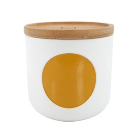 Elements Small Yellow Canister