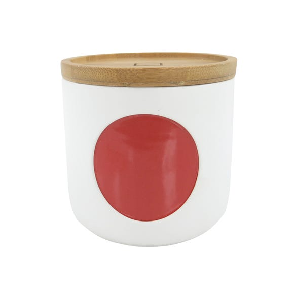 Elements Small Red Canister Red