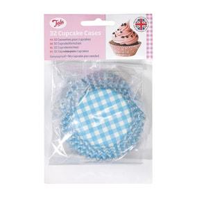 Tala Originals Blue Stripe Cupcake Cases