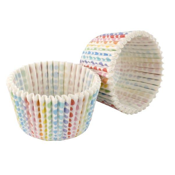 Tala Originals Rainbow Dot Cupcake Cases Multi Coloured