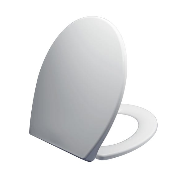 Thermoplast White Toilet Seat White