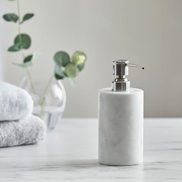 Dorma Marble Lotion Dispenser Natural (White)