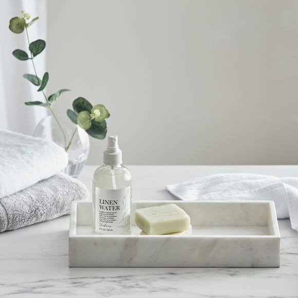 Dorma Marble Tray Natural White