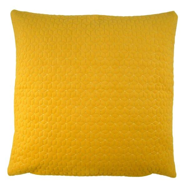 Andie Ochre Cushion Cover Ochre