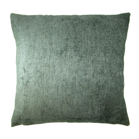 Chenille Orlando Cushion Cover Charcoal undefined