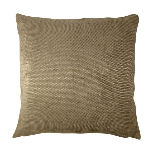 Chenille Orlando Cushion Cover Brown undefined