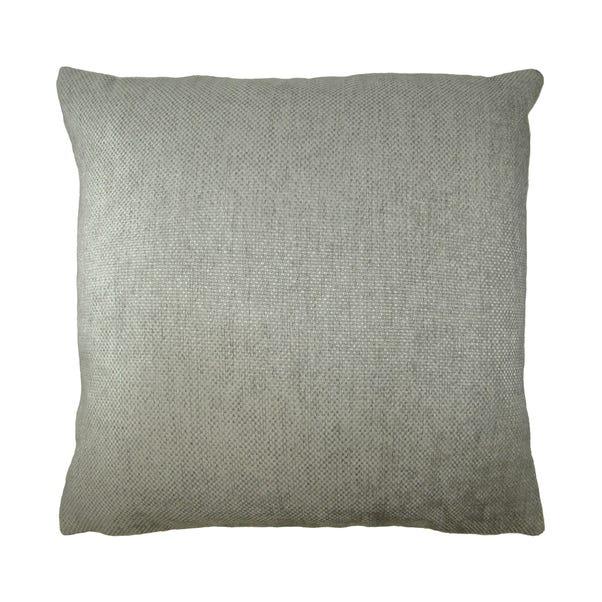 Chenille Orlando Cushion Cover Silver undefined