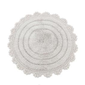 Maison Grey Round Bath Mat