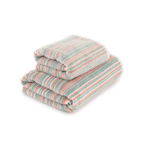 Candy Stripes Towel Multi Coloured undefined