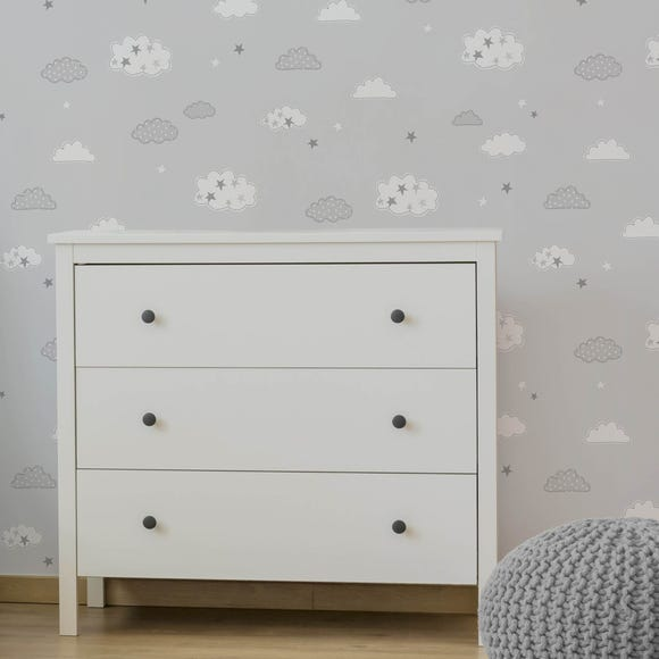 Sweet Dreams Grey Wallpaper Grey
