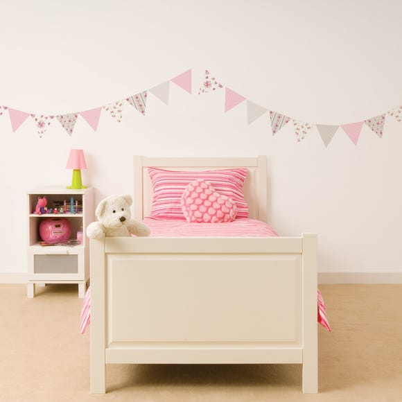 Katy Ditsy Bunting Wall Stickers Multi Coloured
