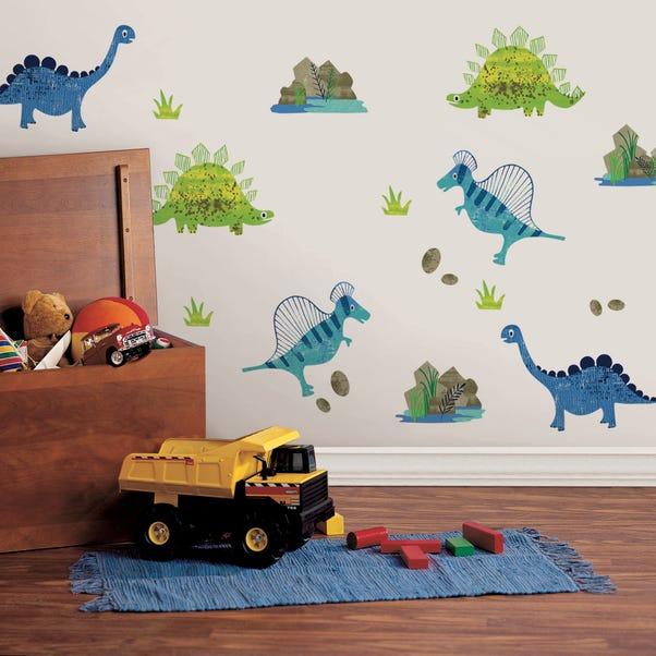 Roar! Dinosaur Wall Stickers Multi Coloured