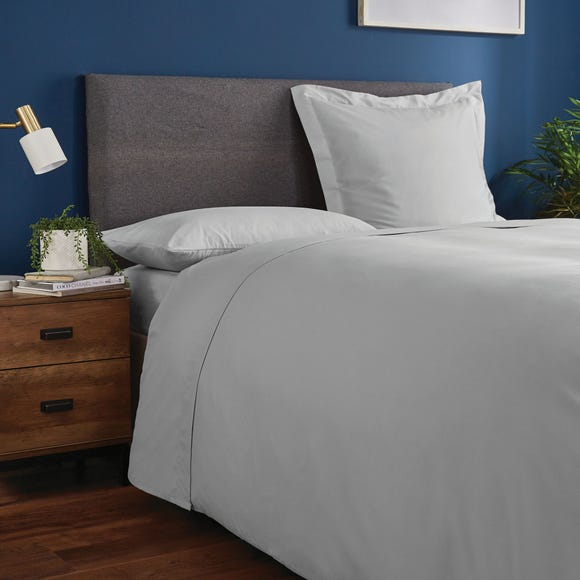 Fogarty Soft Touch Flat Sheet Platinum undefined