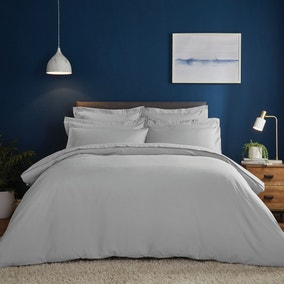 Fogarty Soft Touch Platinum Duvet Cover and Pillowcase Set