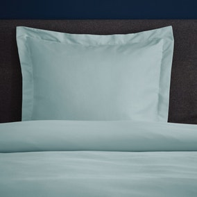 Fogarty Soft Touch Ocean Blue Continental Square Pillowcase